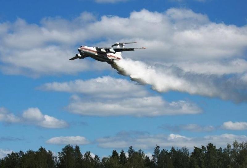 ՌԴ ռազմական ավիացիան մարել է անտառում ավելի քան 450 հազար հա տարածքում բռնկված հրդեհը