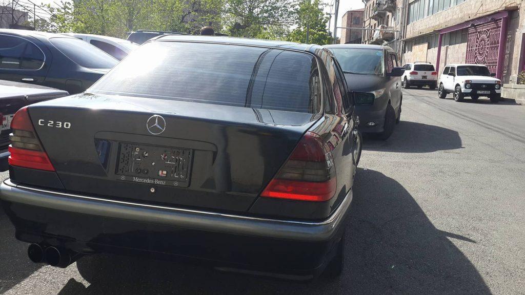 Առանց համարանիշի մեքենա վարած ոստիկանը ենթարկվել է կարգապահական տույժի