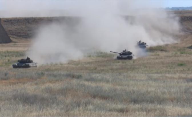 Արցախում զորախաղեր են անցկացվել՝ մարտական հրաձգությամբ.տեսանյութ
