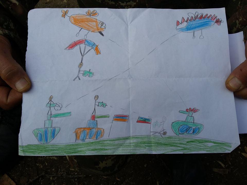 Հայ մանուկների նամակներ, որոնք ստանում էինք ռազմագծում (լուսանկարներ)