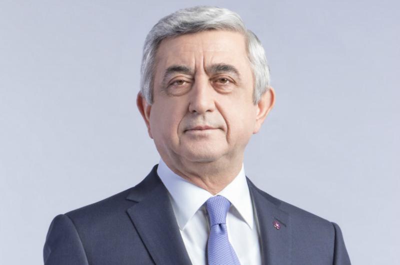 Սերժ Սարգսյանը շնորհավորել է ԵԺԿ նախագահին խորհրդարանի ընտրություններին գրանցած հաջողության կապակցությամբ