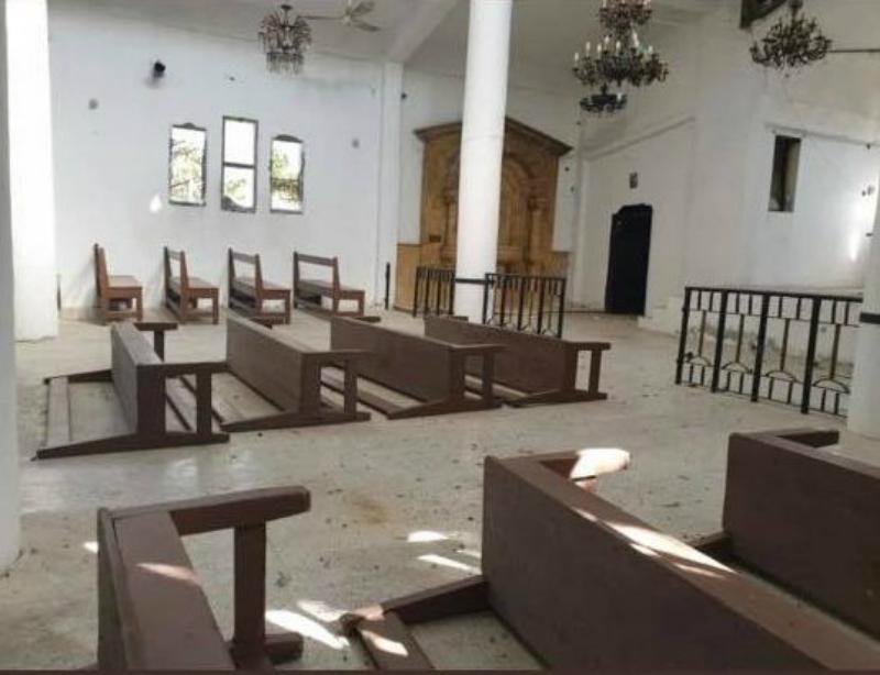 Ըստ տեղեկությունների՝ պռոթուրքական ուժերը հոկտեմբերի 30-ին մտել են Թալ Աբյադի հայկական եկեղեցին ու վնասել այն