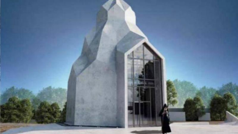 Ուկրաինայի Կիրովոգրադի մարզում հրապարակվել է ապագա հայկական վանական համալիրի էսքիզը