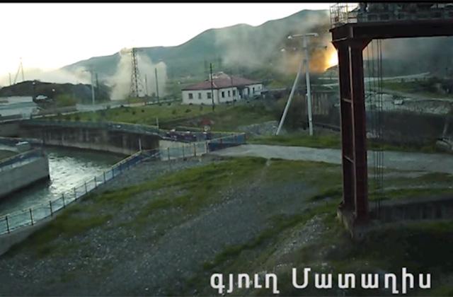 ԼՂՀ ՊԲ-ն ներկայացնում է ապրիլի լույս 28-ի գիշերը հակառակորդի կողմից Մատաղիս բնակավայրի հրթիռակոծման տեսանյութը