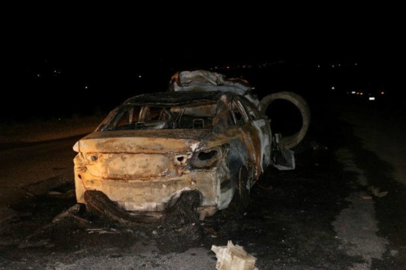Խոշոր վթար Արցախում, մեքենաներից մեկն այրվել է․ կան վիրավորեր