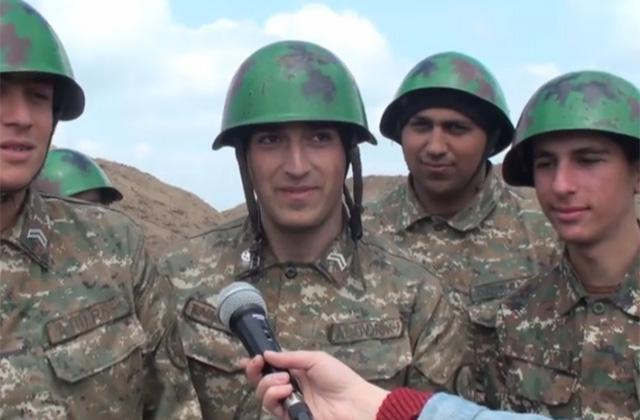 Զինվորները՝ տեսաուղերձ են հղել առաջնագծից