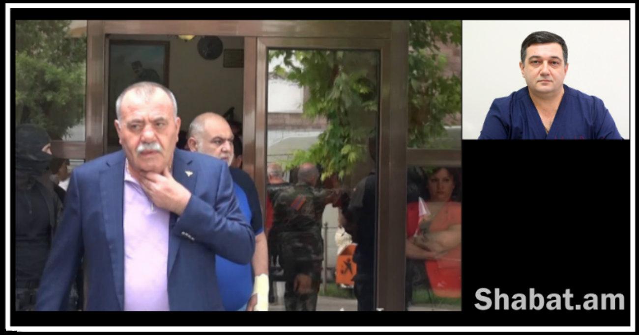 Մանվել Գրիգորյանի մոտ շաքարային դիաբետի պատճառով առաջացել է  հիպերգլիկիմիա