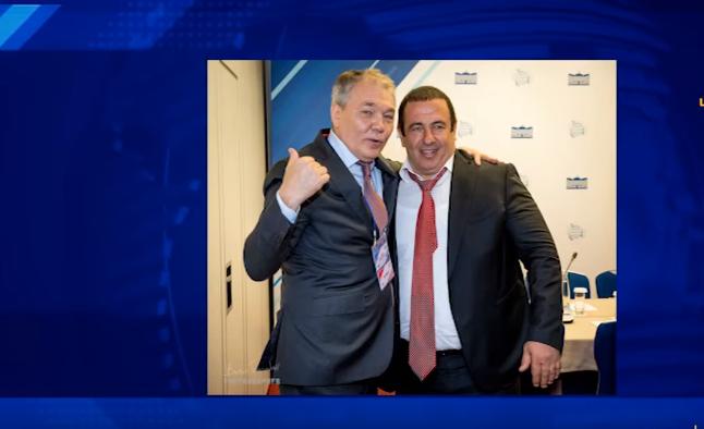 Մոսկվայում Գագիկ Ծառուկյանը հանդիպել է Լեոնիդ Կալաշնիկովի հետ