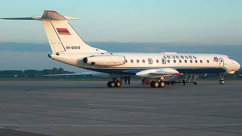 Երևանից Մոսկվա թռչող ինքնաթիռում մահացած ուղևորի են հայտնաբերել