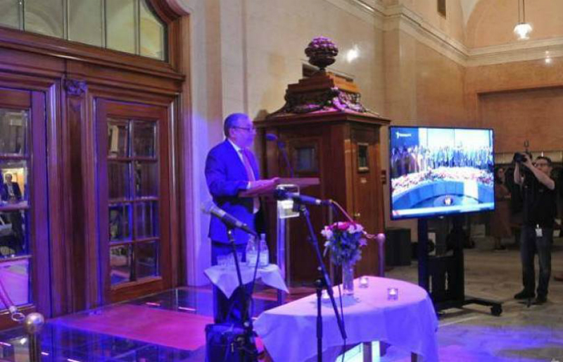 Շվեդիայի խորհրդարանում ոգեկոչել են Հայոց ցեղասպանության 104-րդ տարելիցը