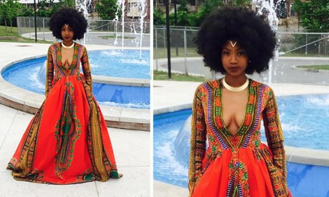 Այս աղջիկն իր զգեստով ցնցել է ամբողջ համացանցը (լուսանկարներ)