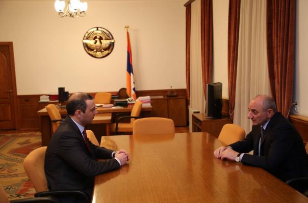 ԱԽ քարտուղար Արմեն Գրիգորյանն  ու Բակո Սահակյանը հանդիպել են