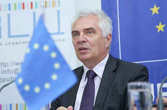 ԵՄ-ն պատրաստ է աջակցել ՀՀ կառավարությանն արտահերթ ընտրությունների կազմակերպման հարցում. Սվիտալսկի