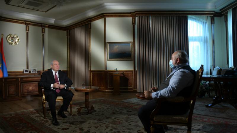Մենք բոլորս պետք է սովորենք մեր ժողովրդից. Արմեն Սարգսյանի հարցազրույցը՝ Հանրային հեռուստաընկերությանը