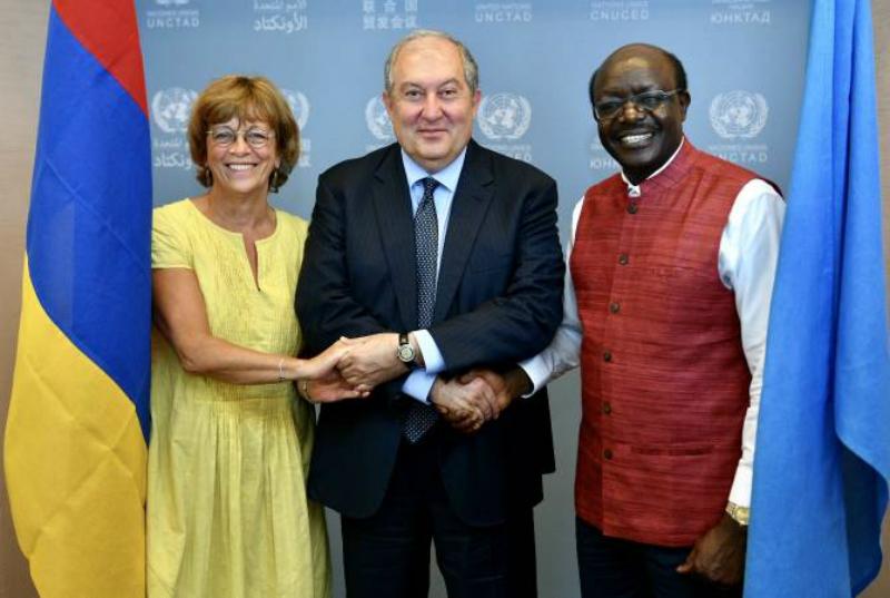 Նախագահ Արմեն Սարգսյանի առաջարկությամբ UNCTAD-ը զեկույց է պատրաստում Հայաստանի ներդրումային քաղաքականության վերաբերյալ