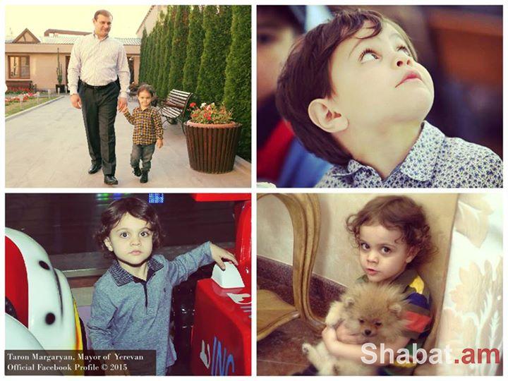 Տարոն Մարգարյանի որդին այսօր հինգ տարեկան դարձավ