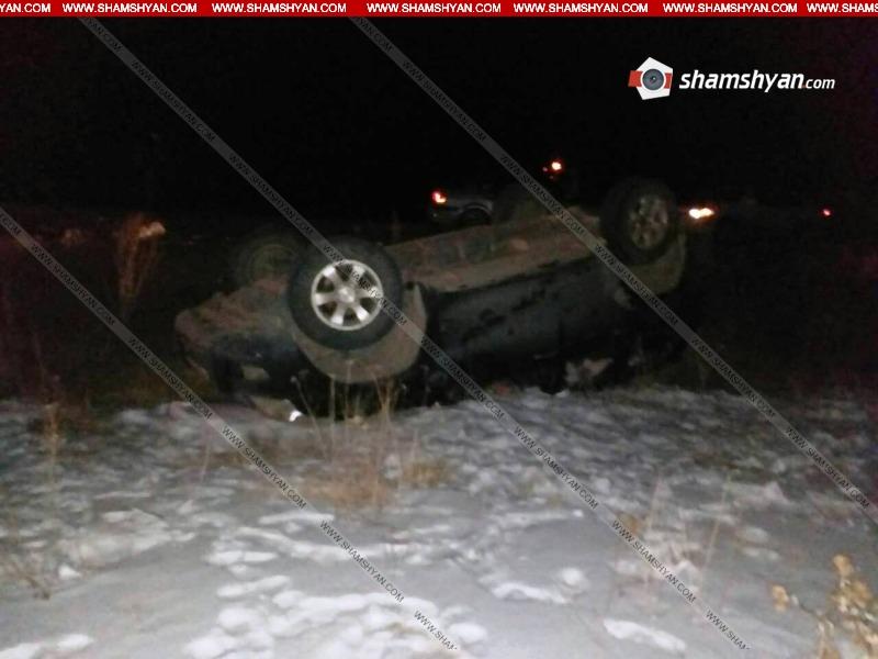Գեղարքունիքի մարզում 61–ամյա վարորդը Toyota Land Cruiser-ով գլխիվայր շրջվելով՝ հայտնվել է դաշտում