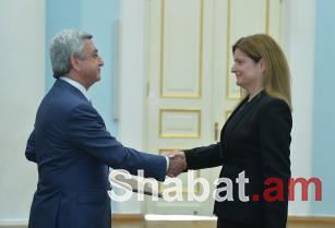Նախագահին հավատարմագրերն է հանձնել Հայաստանում Միացյալ Թագավորության նորանշանակ դեսպանը