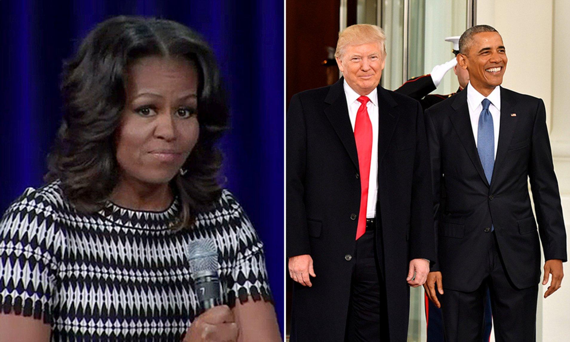 Թրամփը նման է անպատասխանատու, վատ ծնողի. Միշել Օբամա