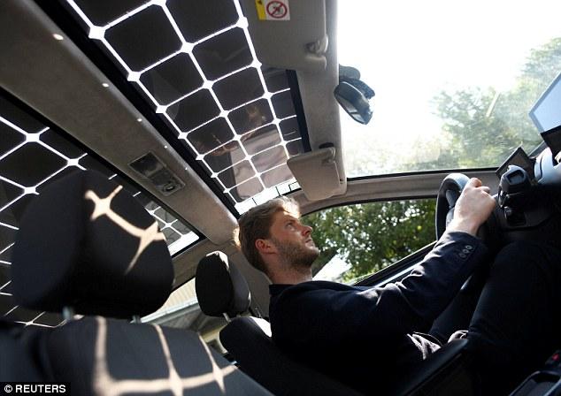 Գերմանացիները 330 հատ արևային մարտկոցով համալրված էլեկտրական մեքենա են ստեղծել