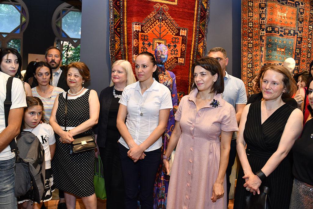 Աննա Հակոբյանը ներկա է գտնվել FASHION FORUM YEREVAN 2019 միջոցառման բացման արարողությանը