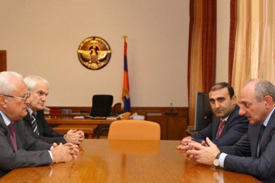 Արցախում քննարկվել է երկու հայկական հանրապետությունների տնտեսական համագործակցությունը