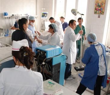 Բուժաշխատողներ են գործուղվել Սյունիքի մարզի և Լեռնային Ղարաբաղի հիվանդանոցներ