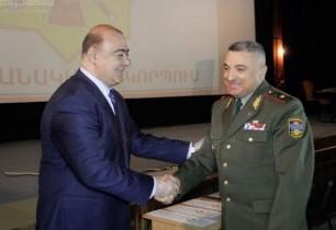Գյումրիում խրախուսվել են ՀՀ ՊՆ 4-րդ բանակային կորպուսի շիրակցի զինծառայողները