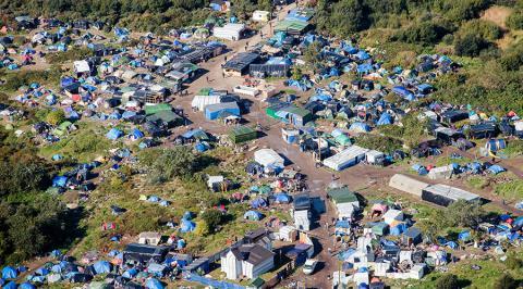 Ֆրանսիայում փախստականների ճամբարը քաղաքի է վերածվում