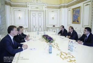 Վարչապետն ընդունել է Եվրասիական զարգացման բանկի վարչության նախագահին