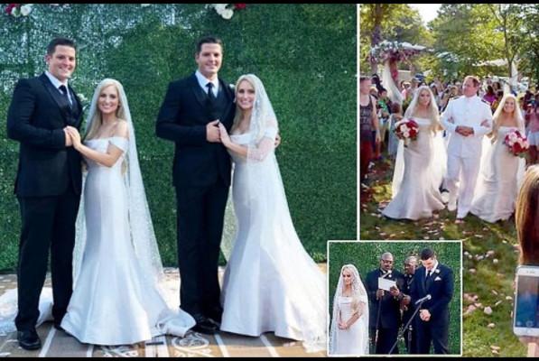 ԱՄՆ-ում երկվորյակ քույրերն ամուսնացել են երկվորյակ եղբայրների հետ՝ իրականացնելով իրենց երազանքը (լուսանկարներ, տեսանյութ)