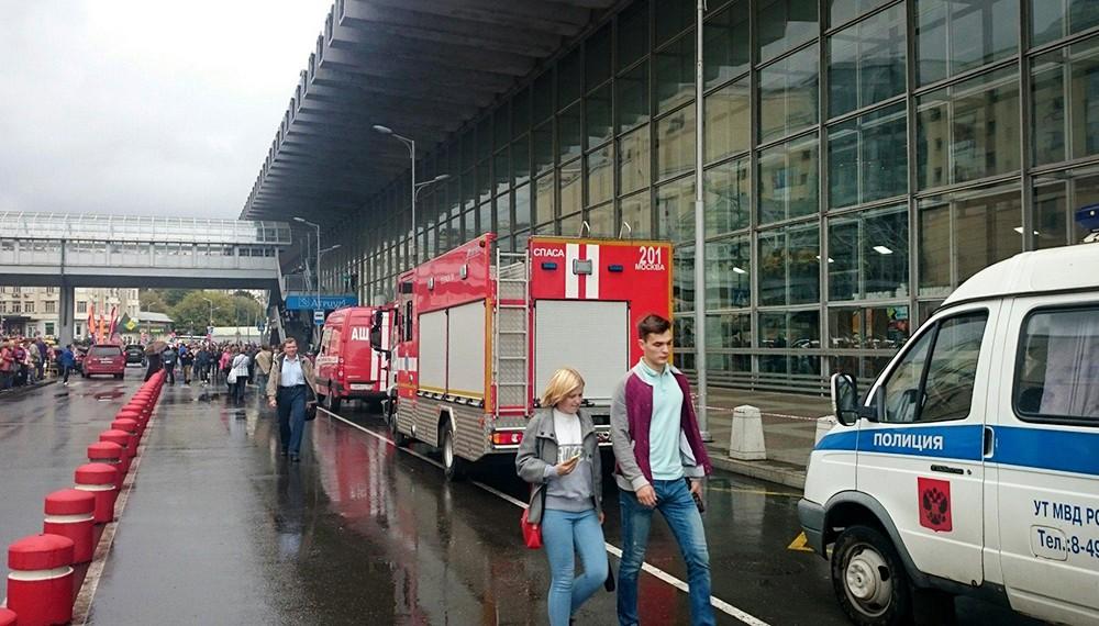 Մոսկվայի «Курский» կայարանից մարդկանց տարհանել են