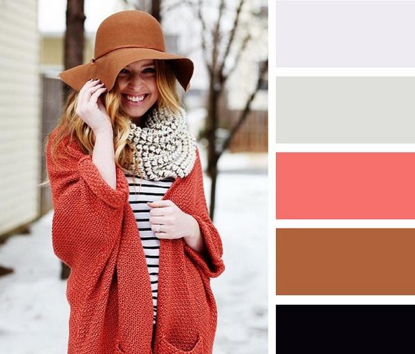 Ինչպես համադրել գլխարկների և շարֆերի գույները