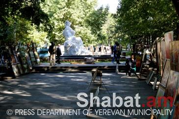 «Երևան ԱՐՏ» գեղանկարչական ցուցահանդեսի բացում` Սարյան պուրակում