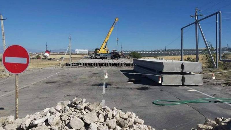 Վերանորոգվում է Բալահովիտ-Մասիս ճանապարհին գտնվող կամուրջը