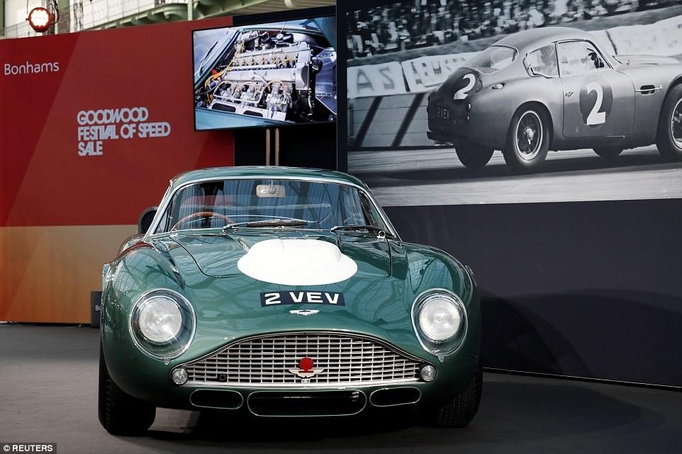 Ամենաթանկարժեք Aston Martin-ն աճուրդի կդրվի (լուսանկարներ)