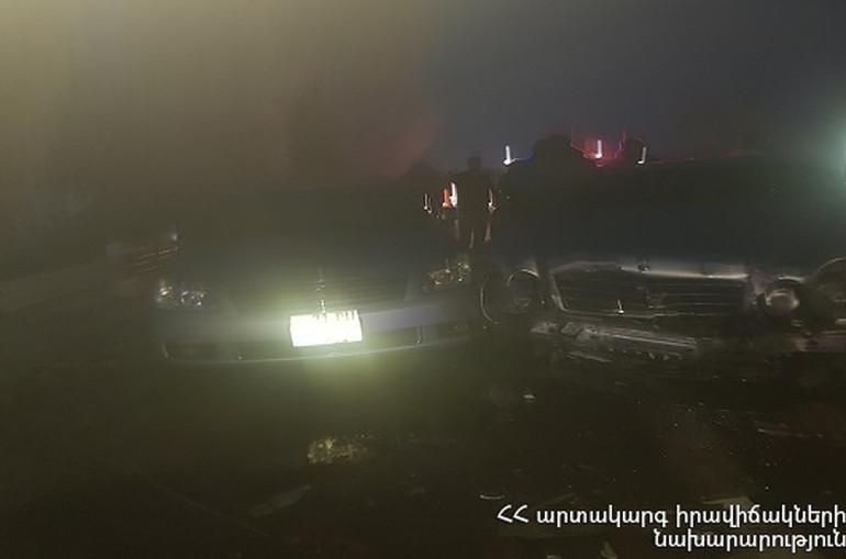 Երևան-Սևան ավտոճանապարհին իրար են բախվել 11 ավտոմեքենա. կան տուժածներ (լուսանկարներ)