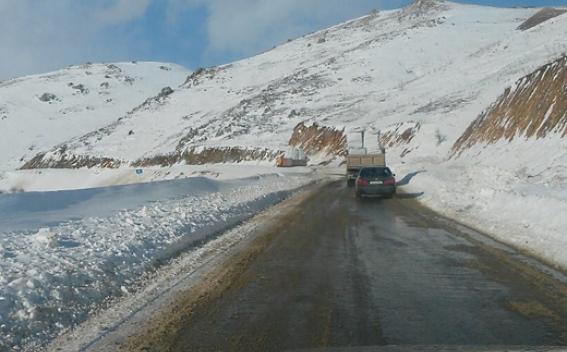 ՀՀ տարածքում որոշ ավտոճանապարհներին տեղ-տեղ առկա է մերկասառույց