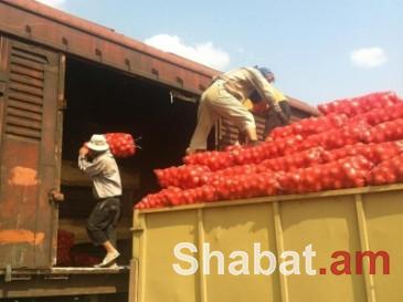 Հայաստանում գյուղատնտեսական արտադրանքով վագոնների սահմանային ախտահանման կետ կկառուցեն