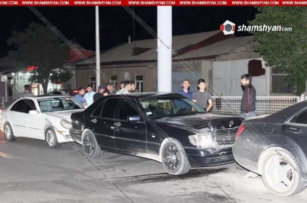 Երևանյան խճուղում 5 մեքենաներ բախվել են իրար
