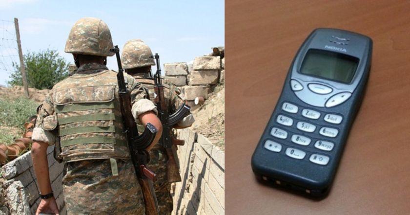 Առաջին անգամ ժամկետային զինծառայողները իրենց հետ կարող են ունենալ բջջային հեռախոսներ