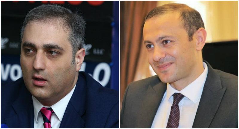 Հայկ Մարտիրոսյանը  Անվտանգության խորհրդի քարտուղարի պաշտոնում իր նշանակման մասին