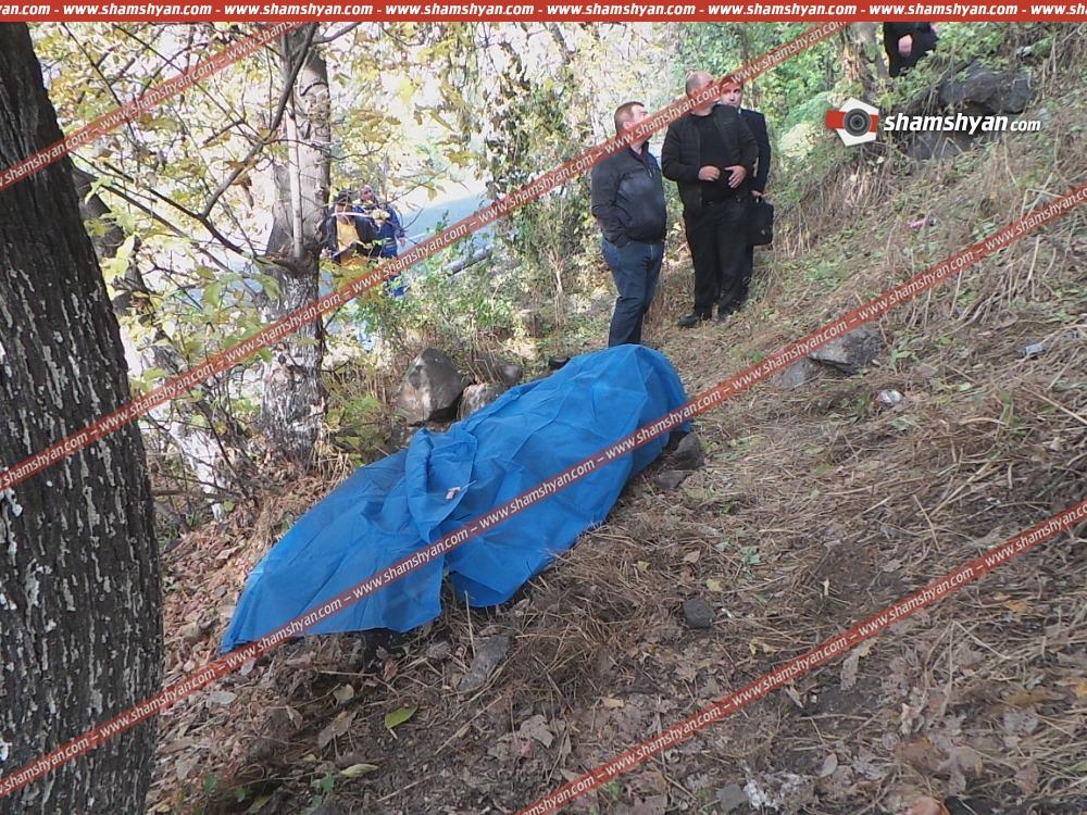 50-55 տարեկան տղամարդը Կիևյան կամրջից ցած է նետվել