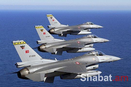 Թուրքիայի օդուժը ռմբակոծել է քրդերի ճամբարները Հյուսիսային Իրաքում