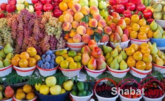 Արտահանվել է 60 600 տոննա թարմ պտուղ-բանջարեղեն