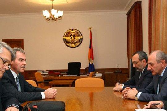 Բակո Սահակյանն ընդունել է ԿԽՄԿ տարածաշրջանային նորանշանակ ղեկավարին