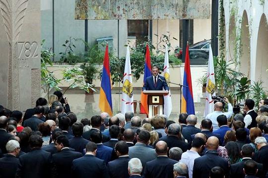 Երևան այցելած պաշտոնական պատվիրակությունները հյուրընկալվել են քաղաքապետարանի ճեմասրահում