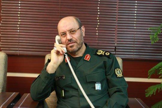 Իրանի պաշտպանության նախարարը Ադրբեջանի և Հայաստանի իր գործընկերներին զսպվածության կոչ է արել