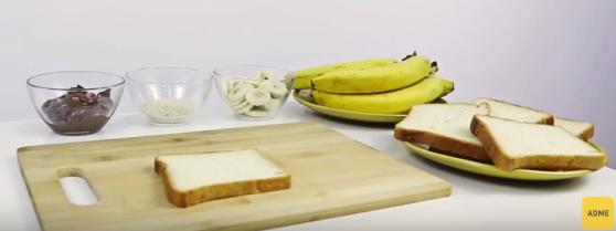 Պատրաստեք 4 համեղ բուտերբրոդներ ընդամենը 1 րոպեում (վիդեո)
