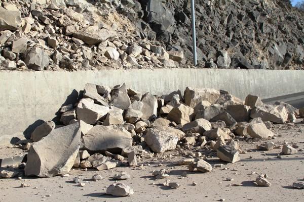 Գորիս-Տաթև ավտոճանապարհին տեղի է ունեցել քարաթափում